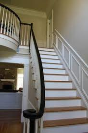 Black Banister Staircase Thinking About Painting My Rails Black Outside