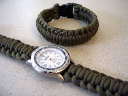survival bracelet watches images Paracord watchband bracelet with a side release buckle 9 steps jpg