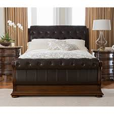 bed frames queen size sleigh bed frame henry complete queen bed