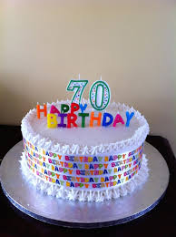 70th birthday cake ideas cake ideas for 70th birthday cakes and designs party within 70th