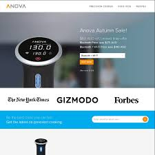 Wifi Cooker by Anova Precision Cooker Sous Vide Bluetooth Or Bluetooth Wifi