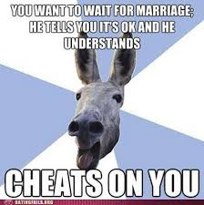 Funny Donkey Memes - jackass boyfriend doesn t know what you re so upset about dating