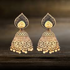 jhumka earrings online shopping jhumka earrings jhumkas online shopping jewlot jewlot