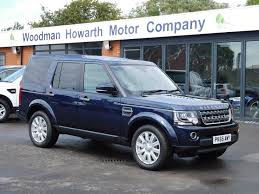 land rover discovery 4 2015 recently sold cars for sale blackpool woodman howarth motor