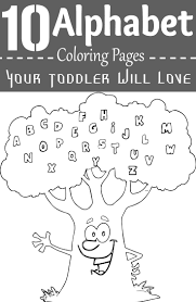 letter a coloring pages of alphabet words for kids printable z