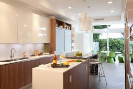 breakfast table kitchen island stylish interior design in miami