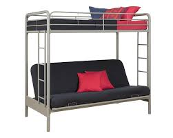 Futon Bunk Bed With Mattress Amazon Com Dorel Home Products Twin Over Full Futon Bunk Bed