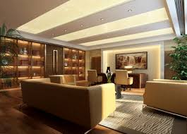 Modern Luxury Office Modern Chinese Style CEO Office Interior - Contemporary office interior design ideas