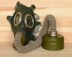 Halloween Gas Mask Costume Rubber Gas Mask Etsy