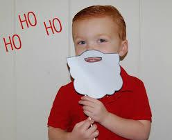 free santa beard template i heart nap time