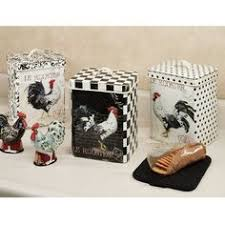 rooster kitchen canisters 1950s vintage wood rooster kitchen canister set vintage stacking