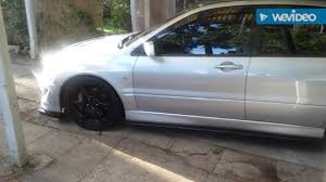 evo 8 spoiler evo 8 side skirt extensions youtube