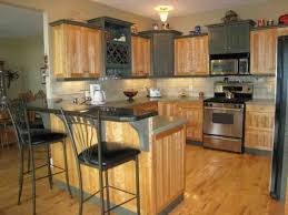 Oak Kitchen Design Ideas by Oak Kitchen Cabinets Cool Dining Table Remodelling And Oak Kitchen