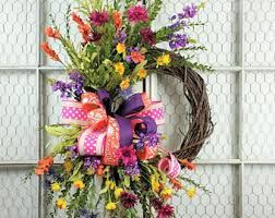summer wreath summer wreaths etsy