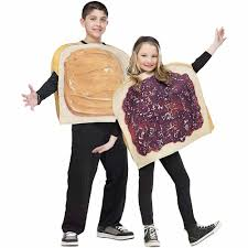 childs halloween costumes peanut butter n u0027 jelly child halloween costume walmart com