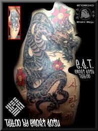 full custom side japanese tattoo by enoki soju by enokisoju on
