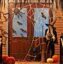 get ready for halloween with these halloween front yard decorating