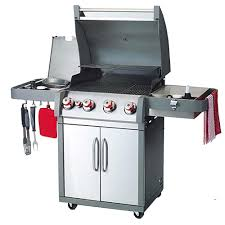 coleman xtr4 4 burner outdoor propane gas stainless steel backyard