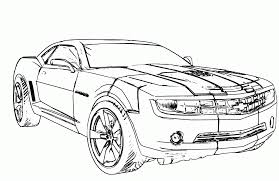 transformer coloring pages chevy camaro coloring page coloring home