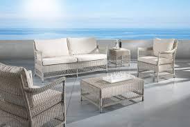 divanetti in vimini da esterno salotti in rattan sintetico arredamento giardino sintetico mobili