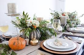 fall table settings ideas elegant and easy thanksgiving table decorations ideas family