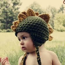 halloween hats for babies dinosaur crochet hatbaby or kids sizesperfect halloween