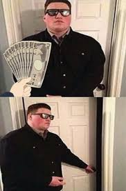 Bouncer Meme - bribed bouncer persuadable bouncer know your meme
