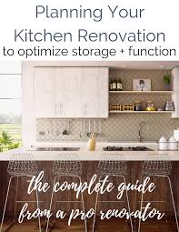 how to start planning a kitchen remodel kitchen renovation checklist complete guide to buying