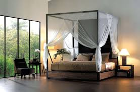 charming four poster canopy bed curtains pics decoration