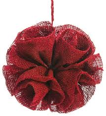 silk plants direct burlap ornament pack of 4 contemporary