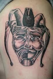 sad jester by cat johnson tattoonow