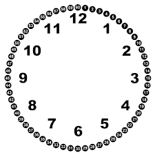 blank clock face printable free download clip art free clip