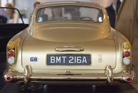 old aston martin james bond 24 carat gold aston martin made for james bond anniversary