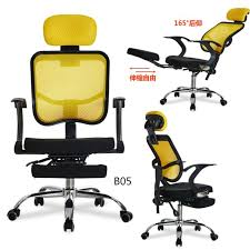 Reclining Office Chair With Footrest D05b Comfortable Napping Reclining Office Desk Chair With Footrest