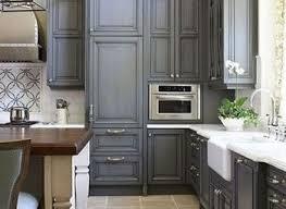dark cabinet kitchen wooden laminate countertop brown wooden