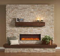 pinterest river rock fireplaces stone doublesided wood seethrough