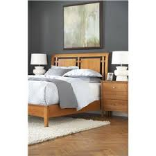 mobel furniture escape queen crossings bed with cut out headboard