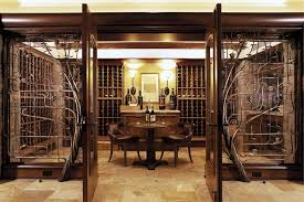 Temperature Controlled Wine Cellar - seattle temperature controlled wine cellar contemporary with