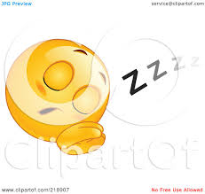 small halloween emoticons transparent background royalty free rf clipart illustration of a sleeping yellow face