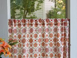 Orange Kitchen Curtains Sale Orange Yellow Curtain Kitchen Curtains Vintage Curtain Sheer
