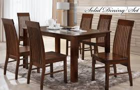 6 Seater Oak Dining Table And Chairs Dining Table Set 6 Seater Image U2022 Table Setting Design