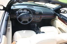 2004 Chrysler Sebring Convertible Interior 2001 Chrysler Sebring Information And Photos Zombiedrive