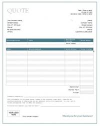Electrical Estimate Template by Quotation Templates Quote Templates