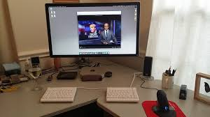 best desk setup mac setup desk of a software developer u0026 it architect