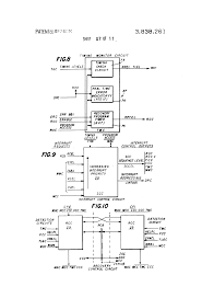 jeep front drawing patent us3838261 interrupt control circuit for central processor