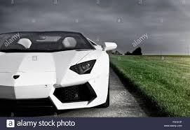Lamborghini Aventador Roadster - lamborghini aventador roadster stock photo royalty free image