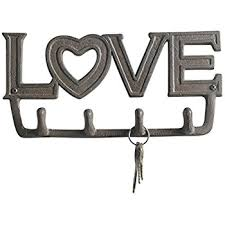 Popular Items For Love Anchors - com love antique key holder by comfify wall mount cast