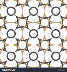 abstract seamless pattern arabian style vector stock vector