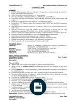 Sas Resume Sample by Sample Sas Resumes Sas Software Microsoft Access