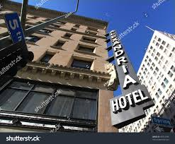 los angeles jan 2012 alexandria hotel stock photo 97612304